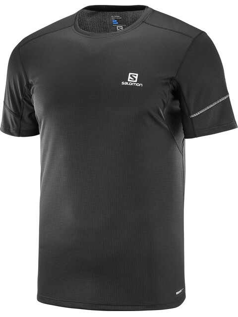 Salomon Agile SS Tee Men Black